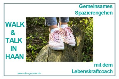 walk and talk haan lebenskraftcoach