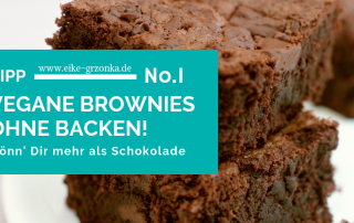 VEGANE BROWNIES OHNE BACKEN!