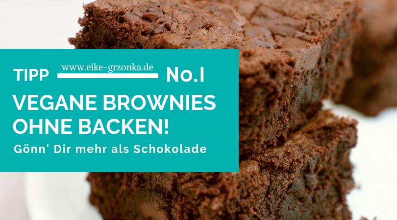 VEGANE BROWNIES OHNE BACKEN!